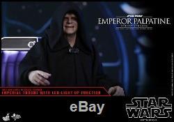 Hot Toys MMS 468 Star Wars Espidoe VI Return Jedi Emperor Palpatine Deluxe Ver