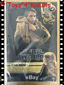 Hot Toys MMS 517 Star Wars Return of the Jedi Luke Skywalker Endor (Deluxe Ver)