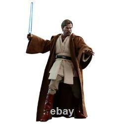 Hot Toys Star Wars 1/6 Obi-Wan Kenobi Action Figure Deluxe Ver MMS478