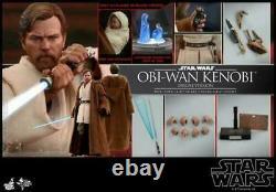 Hot Toys Star Wars Episode III Obi-Wan Kenobi 1/6 Figure Deluxe Ver. MMS478 Toy