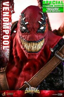 Hot Toys VGM 35 Marvel Contest of Champions Venompool 1/6 Figure Special Ver NEW