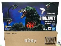 IN STOCK Godzilla Biollante Special Color Ver S. H. Monsterarts Action Figure USA