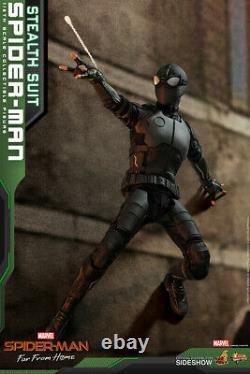 IN STOCK Hot Toys MMS540 Spider-Man Far From Home Stealth Suit Ver 1/6 Figure