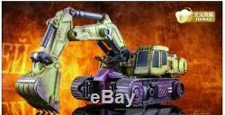 IN STOCK Transformation Oversized Devastator Gravity Builder Battle Damaged Ver