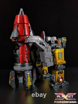 IN STOCK Transformers New Planet X PX-01M Metallic Ver. Genesis Omega Figure
