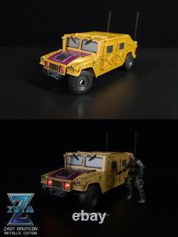 IN STOCK Zeta Toys ZA-07 ZA07 Bruticon Bruticus MP Scale All Set Metallic Ver