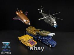 IN STOCK Zeta Toys ZA-07 ZA07 Bruticon Bruticus Metallic Ver. Box Gift Set