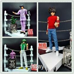 Jacksdo Saint Seiya Myth Cloth EX Seiya Shiryu Shun Casual Wear Ver. Figure Set