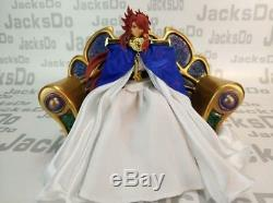 Jacksdo Saint Seiya Myth Cloth Evil God Loki Casual Ver. Action Figurine + Trône