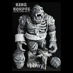 KING KORPSE GORILLA figure JAMES GROMAN kaiju BLACK & WHITE movie ver INSTINCTOY