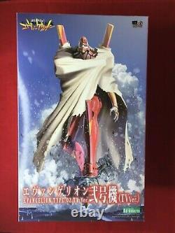 KOTOBUKIYA EVA-02 EVANGELION TYPE-02 TV Ver Plastic Model Kit NEW from Japan