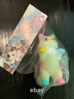 Konatsu Negora Fluffy Carousel ver GID Sofubi Vinyl Figure Japan Konatsuya