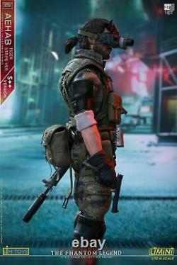 LIMTOYS 1/12 LIMINI AEHAB Snake Ismael S++Ver Action Figure 6 Soldier Model Toy