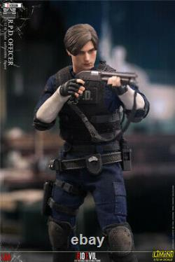 LIMTOYS 1/12 Leon Deluxe Ver. Figure LiMiNi Resident Evil RPD Police Officer Toy