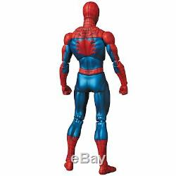 MAFEX No. 075 Spiderman Comic ver. Action Figure Marvel Re-issue
