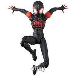 MAFEX SPIDER-MAN (Miles Morales) INTO THE SPIDER-VERS Action Figure with Tracking