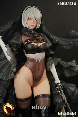 MOONLIGHT STUDIO 1/4 Black Wedding Ver. YoRHa 2B Figure Statue Doll Toy