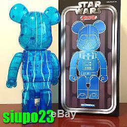 Medicom 1000% Bearbrick Star Wars Darth Vader Be@rbrick HOLOGRAPHIC Ver
