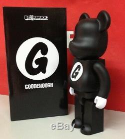 Medicom 2015 Be@rbrick Resonate Goodenough 400% Good Enough Black ver. Bearbrick