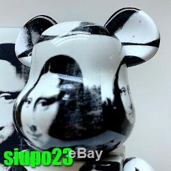 Medicom 400% + 100% Bearbrick Andy Warhol Be@rbrick Double Mona Lisa Ver