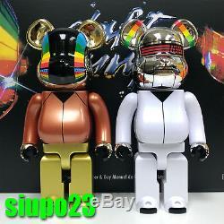 Medicom 400% Bearbrick Daft Punk Be@rbrick Discovery Ver 2p