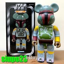 Medicom 400% Bearbrick Star Wars Be@rbrick 2019 Boba Fett First Appearance Ver