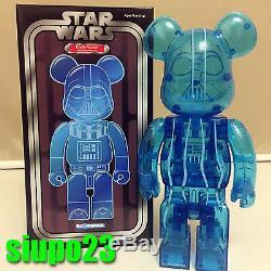 Medicom 400% Bearbrick Star Wars Darth Vader Be@rbrick HOLOGRAPHIC Ver