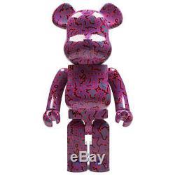 Medicom BE@RBRICK Keith Haring Pink Ver 1000% Bearbrick Figure