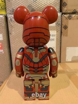Medicom Be@rbrick 2013 Marvel Iron Man 3 400% Mark XLII 42 Damaged ver Bearbrick