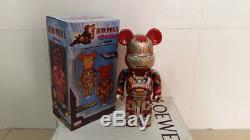 Medicom Be@rbrick 2013 Marvel Iron Man 3 400% Mark XLII 42 Normal ver Bearbrick