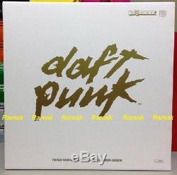 Medicom Be@rbrick 2016 Daft Punk 400% RAM White Suits ver. Bearbrick set 2pcs