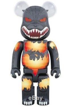 Medicom Be@rbrick 2016 Warner Bros 400% Godzilla Desgodzi Burning ver. Bearbrick