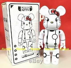 Medicom Be@rbrick 2017 Action City 400% Robot Hello Kitty White ver. Bearbrick