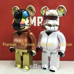 Medicom Be@rbrick 2018 Daft Punk 400% Discovery ver. Bearbrick set 2pcs