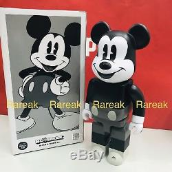 Medicom Be@rbrick 2018 Disney 400% Mickey Mouse Vintage B&W ver. Bearbrick 1pc
