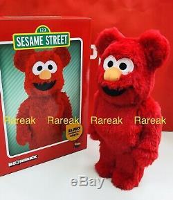 Medicom Be@rbrick 2020 Sesame Street Elmo Flocky Costume ver 400% Bearbrick 1pc