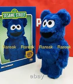 Medicom Bearbrick 2021 Sesame Street Cookie Monster Costume ver 400% Be@rbrick