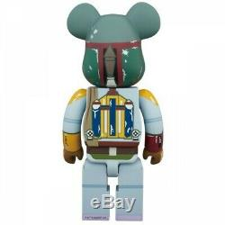 Medicom Toy Bearbrick Be@rbrick BOBA FETT First Appearance Ver 400% Figure