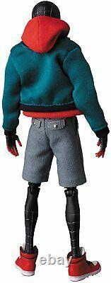 Medicom Toy MAFEX SPIDER-MAN Miles Morales Spider Verse ver. Action Figure