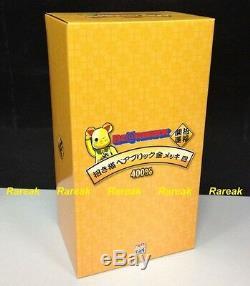 Medicom Toys Bearbrick 2016 Sky Tree 400% Gold Lucky Cat Neko ver. 4 Be@rbrick