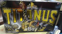 Mighty Morphin Power Rangers Legacy Titanus The Carrier Zord Black and Gold Ver