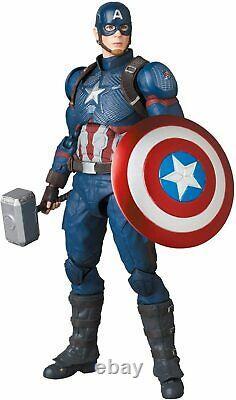 NEW Medicom Toy MAFEX No. 130 CAPTAIN AMERICA Endgame Ver. 160mm Action Figure