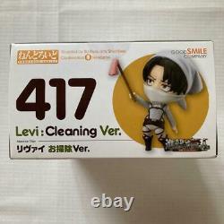 Nendoroid Levi cleaning Ver. Attack on Titan Figure Good Smile #417 Japan