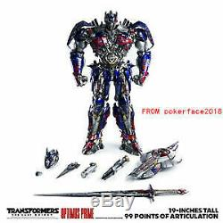 New 3A Transformers The Last Knight ThreeA Toys Optimus Prime Figure Website Ver