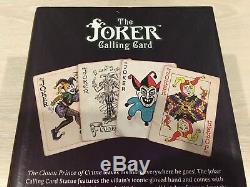 New Cryptozoic DC The Joker Calling Card (White Grove ver.) Rare sent EMS