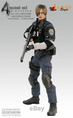 New Hot Toys 1/6 Resident Evil Biohazard 4 Leon S Kennedy RPD Vers. VGM02 Japan