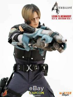 New Hot Toys 1/6 Resident Evil Biohazard 4 Leon S Kennedy RPD Vers. VGM02 Japan