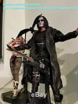 New Hot Toys 1/6 The Crow Eric Draven MMS210 IN STOCK VIP Ver