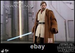 New Hot Toys MMS478 Star Wars III Revenge of the Sith Obi-Wan Kenobi Deluxe Ver