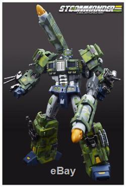New Transformers TFC STC-01A Supreme Tactical Commander O. P Jungle ver instock